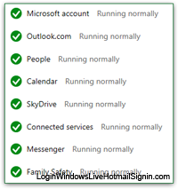 Check if Hotmail is down right now
